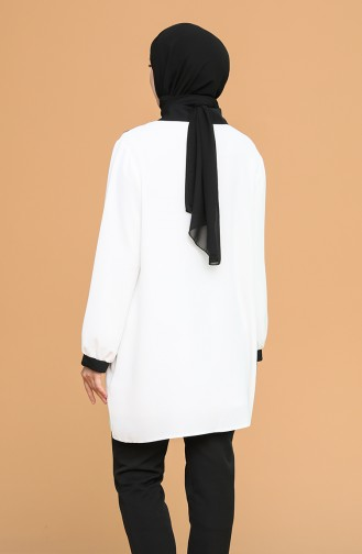 Chemise Blanc 8001-01