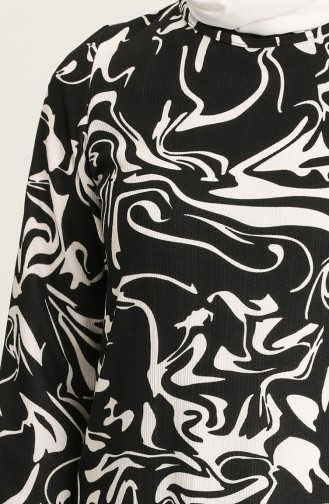 Robe Hijab Noir 5641B-02