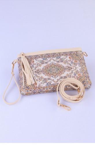 حقيبة يد كريمي 2629