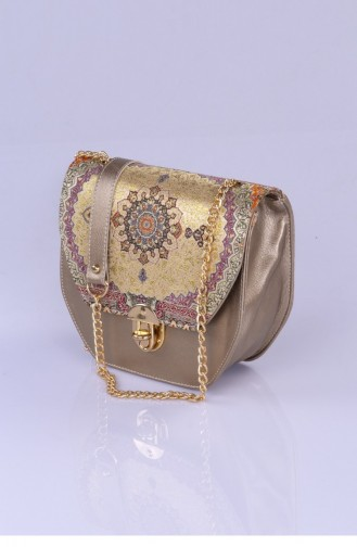 Gold Shoulder Bags 2838