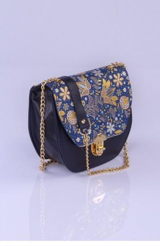Dark Blue Shoulder Bag 2856