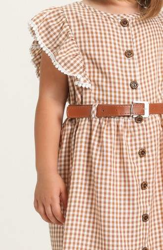 Brown Kinderjurk 75685-05