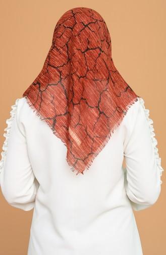 Ziegelrot Kopftuch 653-103
