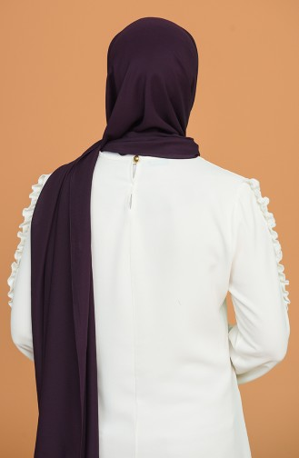 Dark Purple Sjaal 90125-11