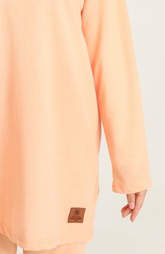 Gelblichrosa Anzüge 2410-07