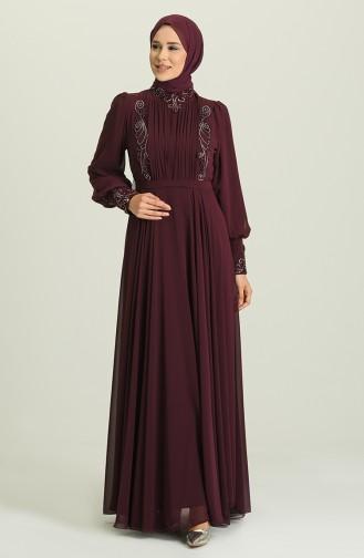 Habillé Hijab Plum 52781-01