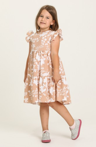 Mink Children`s Dress 5402-04
