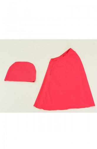 Fuchsia Modest Swimwear 1983-01