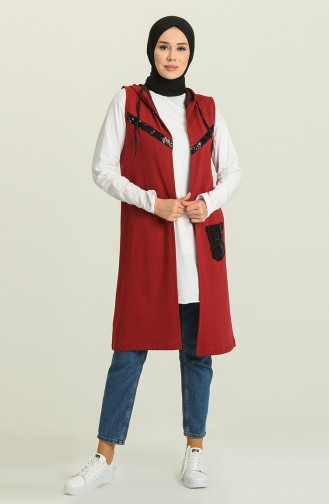 Claret Red Waistcoats 5068-01