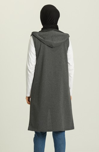 Light Black Gilet 5068-02