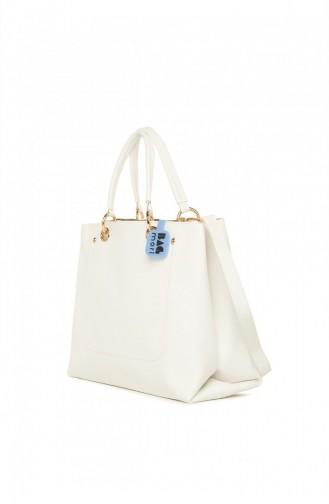 حقيبة كتف أبيض 8682166070855