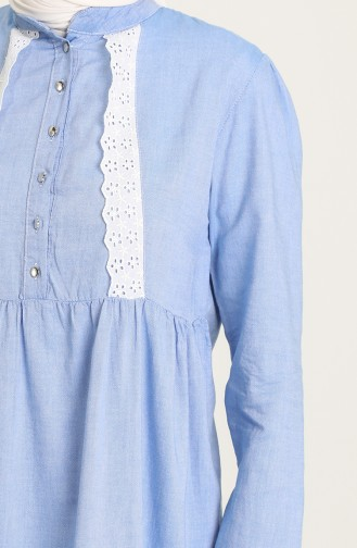 Denim Blue Tunics 7008A-04