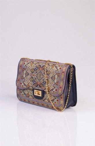 Blue Shoulder Bags 3061