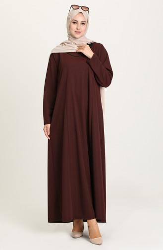 Weinrot Hijap Kleider 4756-05