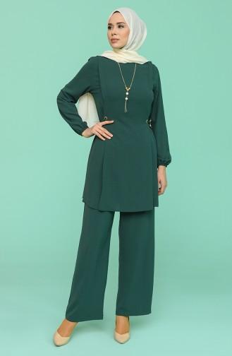 Smaragdgrün Anzüge 5013-04