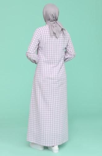 Robe Hijab Pourpre 1642-03