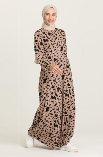 فستان ترابي 5642A-01