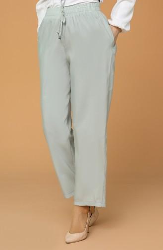 Pantalon Vert menthe 0155-12