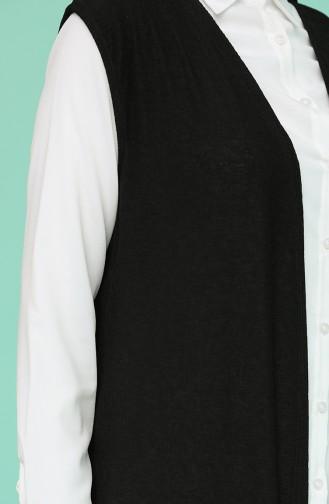 Gilet Sans Manches Noir 8351-01