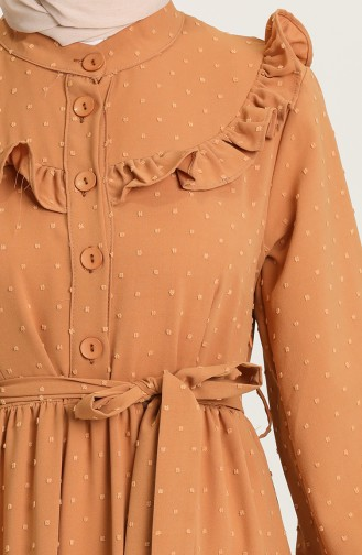 Robe Hijab Tabac 21Y8302-06