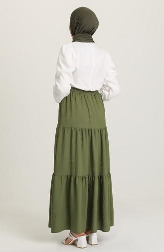Green Almond Skirt 1020211ETK-01