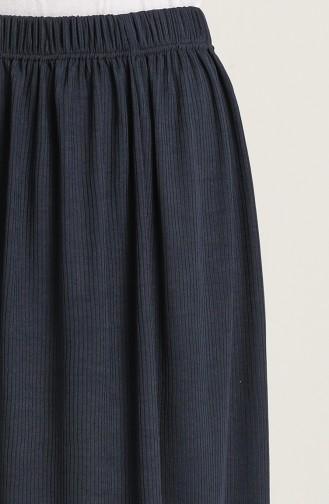 Jupe Bleu Marine 8314-1