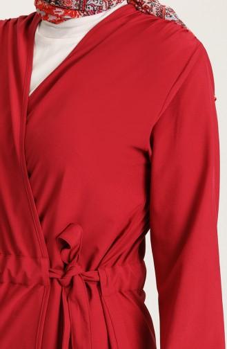 Light Claret Red Cape 1429-06