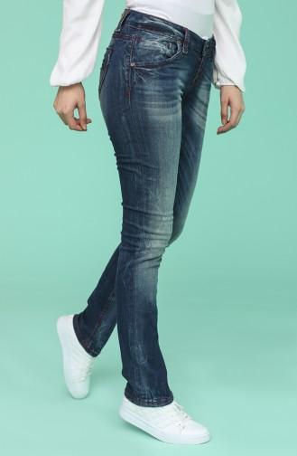 Pantalon Bleu Marine 1015-01