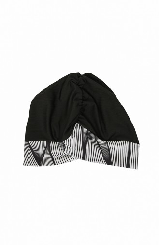 Black Modest Swimwear 2037-01