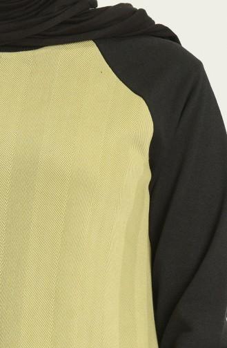 İki Renk Eşofman Takım 21052-06 Haki