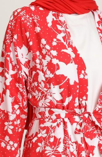 Kimono أحمر 5380-01