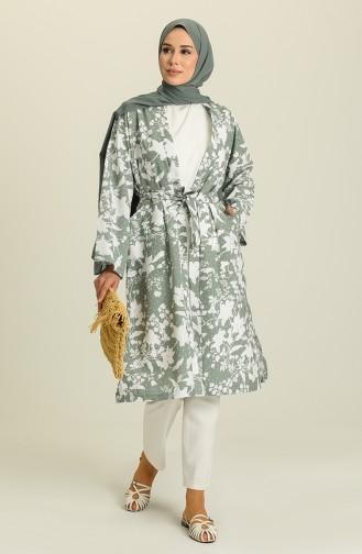 Khaki Kimono 5380-03