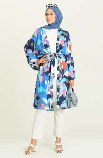 Kimono Bleu 3287-08