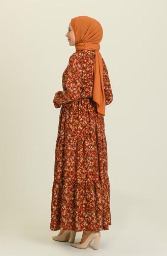 فستان أحمر كلاريت 2023-02