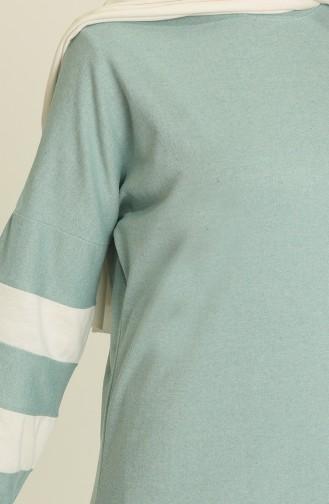 Balon Kol Spor Elbise 1005-07 Çağla Yeşil