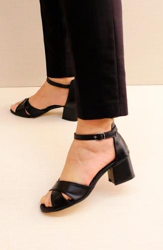 أحذية الكعب العالي أسود 11700LK-01