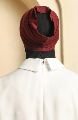 القبعات أحمر كلاريت 190325-08