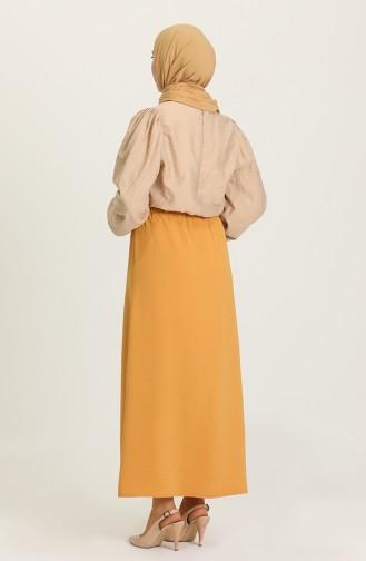 Mustard Skirt 1010041ETK-09
