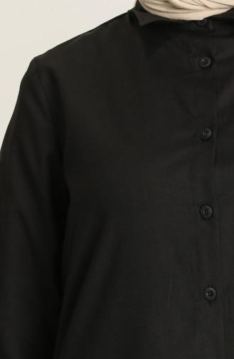 Schwarz Hemd 2150-02