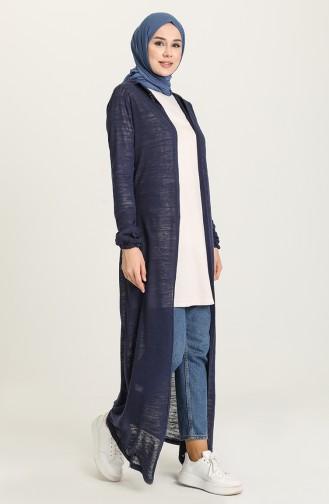 Navy Blue Vest 1645-01