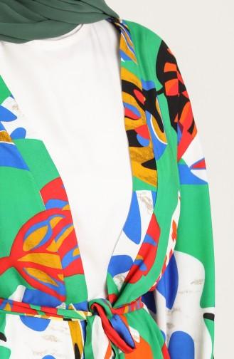 Kimono Vert 3287-15