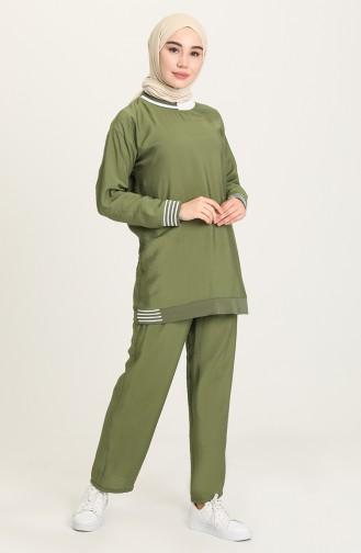 طقم أخضر 1020212TKM-01