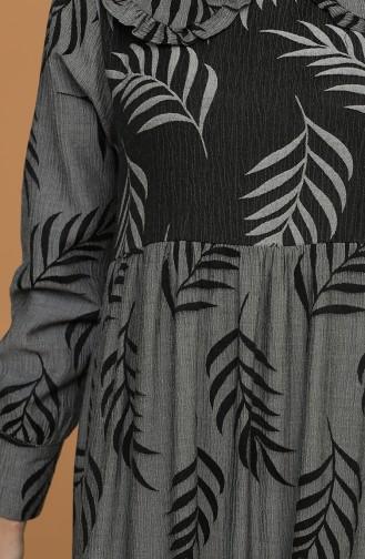 فستان رمادي 21Y8379-05