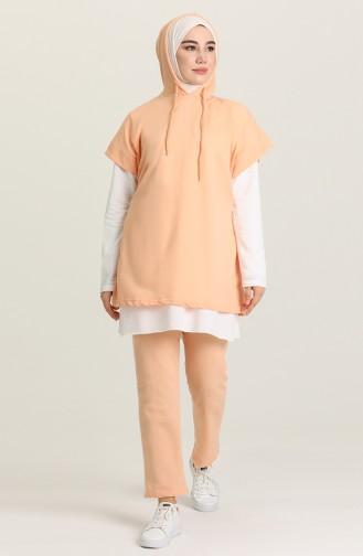 Peach Pink Suit 2371-10