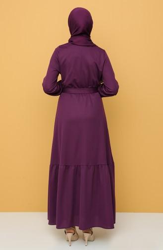 فستان أرجواني 1003-03