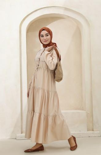 فستان بيج 4345-02