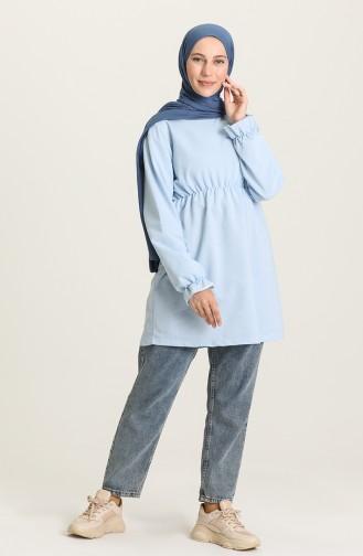 Tunique Bleu Bébé 2408-06