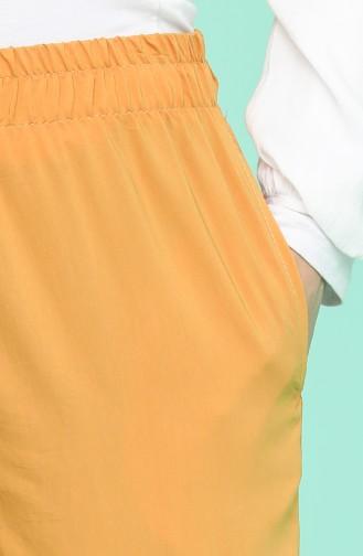 بنطال أصفر زعفران 0192-12