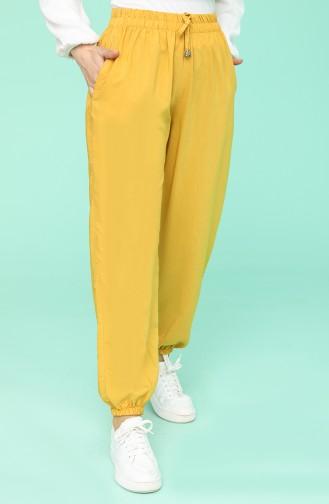 Pantalon Jaune 0192-14