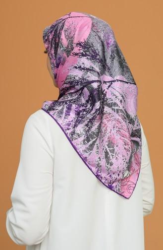 Purple Scarf 1452AMZ-04